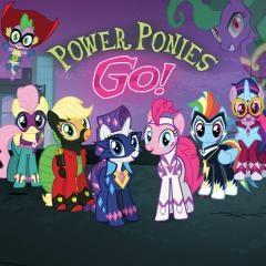 Пауэр пони гоу онлайн