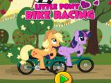 Пони на велосипеде