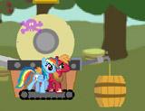 Пони готовят сидр
