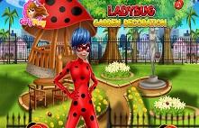 Ladybug украшение сада