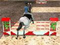 Скачки на лошади 3д
