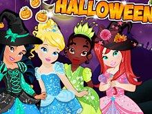 Дисней Принцессы и Хэллоуин
