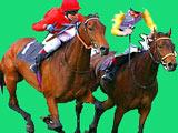Игра на Двоих Лошади Гонки