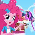 Пинки Пай готовит леденцы на палочке