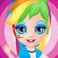 Малышка Барби в стиле пони