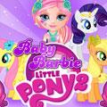 Малышка Барби и Пони 2