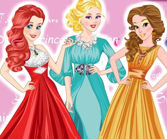 Игра Модные Принцессы Диснея