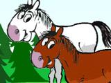 Накорми лошадок