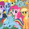 Гонки маленьких пони