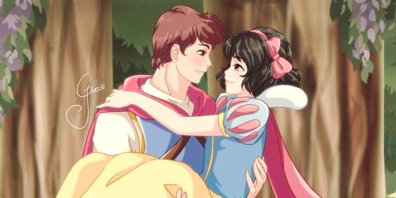 Принцессы Диснея: Стиль Манга