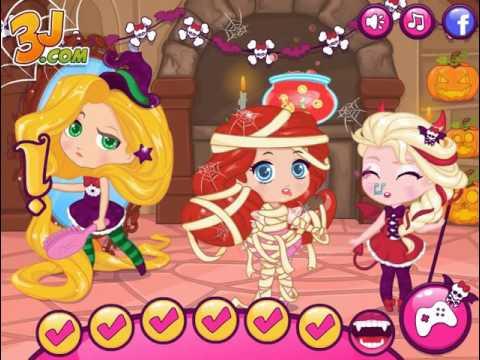 Принцессы Диснея: Веселый Хэллоуин