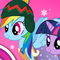 Зимняя мода для пони