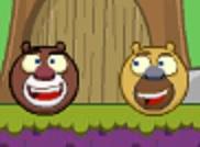 Игра Медведи соседи в бродилках